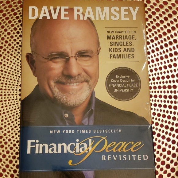 finance Other - DAVE RAMSEY financial peace revised. Book